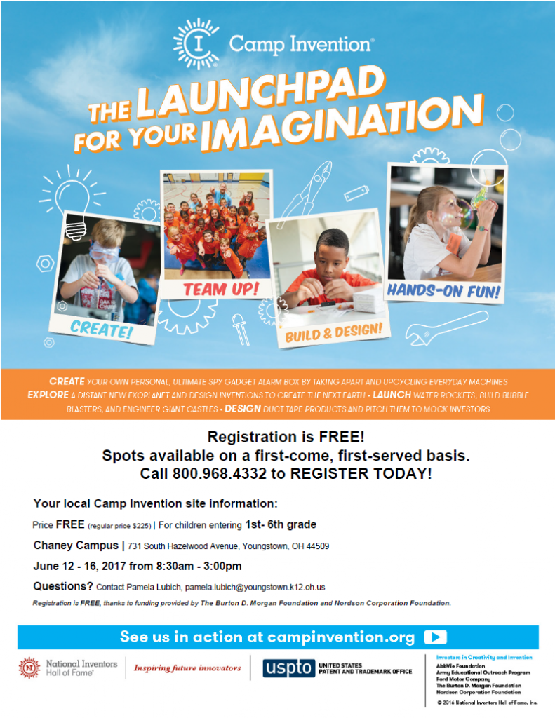 camp invention youngstown