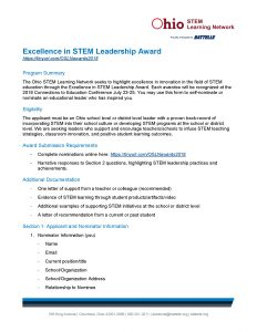 2018 OSLN Excellence in STEM Leadership Award_Page_1