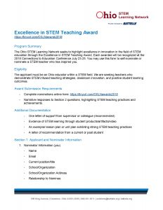 2018 OSLN Excellence in STEM Teaching Award v2_Page_1