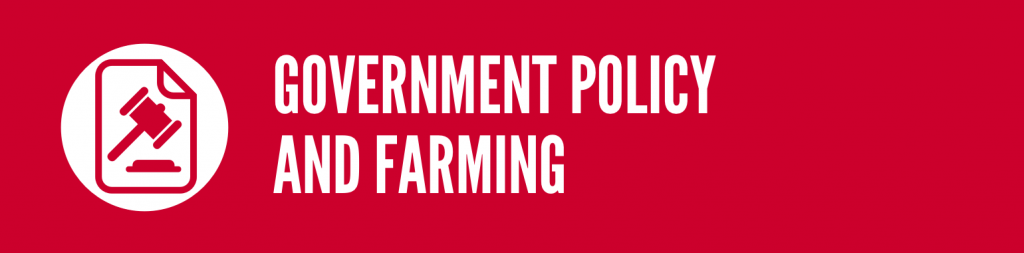 Government policy and farming/International trade
